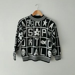 Sweaters - Vintage 90s Crop Sweater